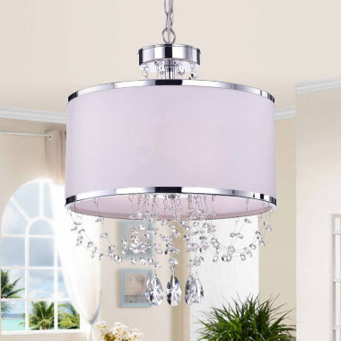 jcpenney.com | Warehouse Of Tiffany Hera' Shaded Crystal-detailed4-light Chandelier