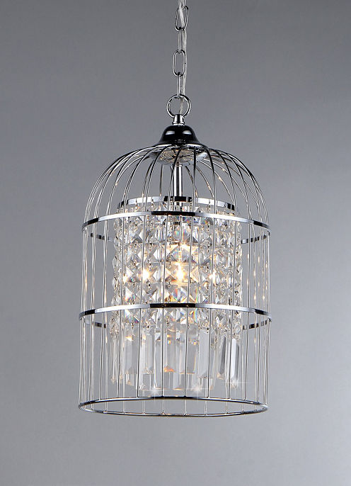 Warehouse Of Tiffany Rheia Chrome Chandelier
