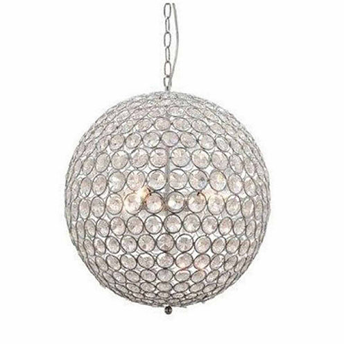 Warehouse Of Tiffany Gertrude 3-light Crystal 12-inch Chrome-finish Chandelier