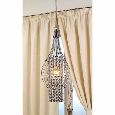 jcpenney.com | Warehouse Of Tiffany Xyza 1-light Crystal 7.5-inchChrome-finish Chandelier