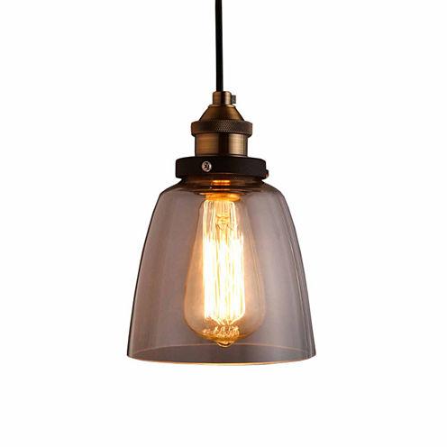 Warehouse of Tiffany Shantelle Adjustable Cord 6-inch Pendant Light with LightBulb