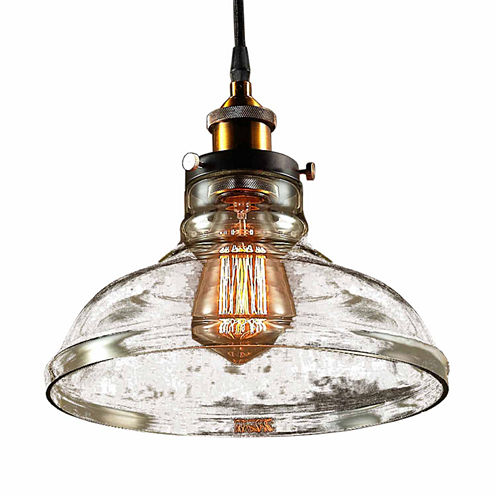 Warehouse Of Tiffany Esmie 1-light Adjustable Height Edison Lamp with Bulb