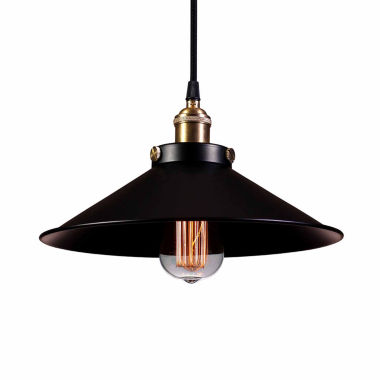 jcpenney.com | Warehouse Of Tiffany Kim Adjustable Height 1-lightEdison Lamp with Bulb