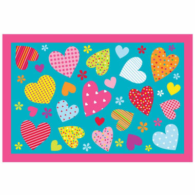 jcpenney.com | Hearts Rectangle Accent Rug