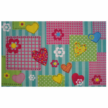 jcpenney.com | Hearts & Flowers Rectangle Accent Rug