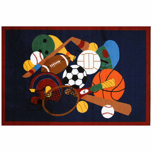 Sports America Rectangular Rugs