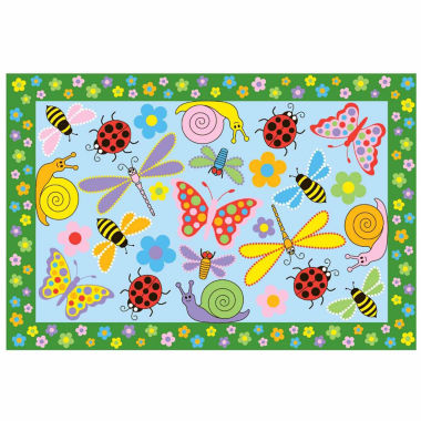 jcpenney.com | Exotic Creatures Rectangle Accent Rug