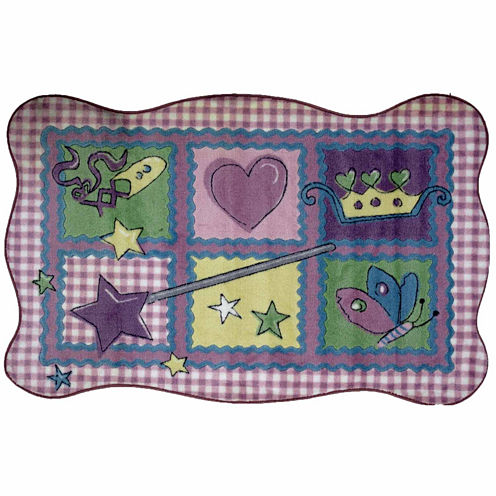 Fairy Quilt Rectangular Rugs