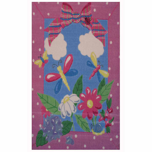 Spring Time Rectangular Rugs
