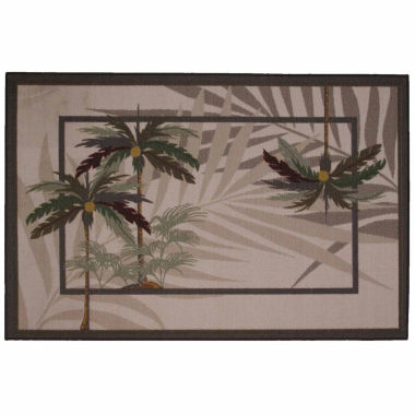 jcpenney.com | Palm Fronds Ii Rectangle Accent Rug