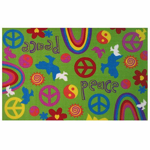 Peace & Harmony Rectangular Rugs