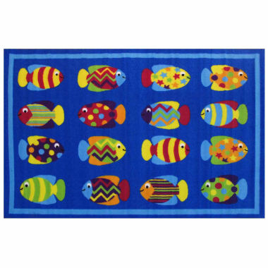 jcpenney.com | Fish Tank Rectangle Accent Rug