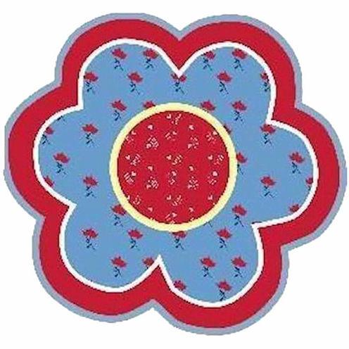 Bandana Flower Round Rugs