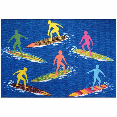 """Surfs """"R"""" Us Rectangular Rugs"""