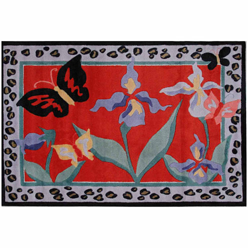 Irises Rectangular Rugs
