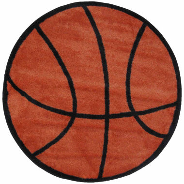 jcpenney.com | Basketball Round Rugs