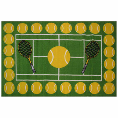 jcpenney.com | Tennis Time Rectangle Accent Rug