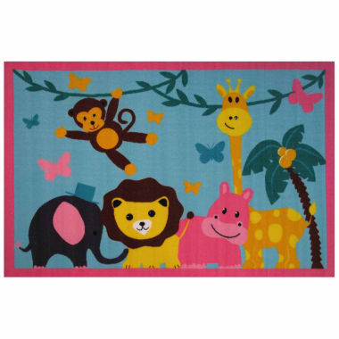 jcpenney.com | Jungle Party Rectangle Accent Rug