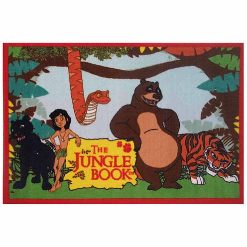 The Jungle Book Rectangular Rugs