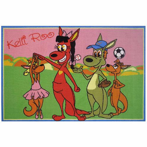 Kelli Roo Dancing Rectangular Rugs