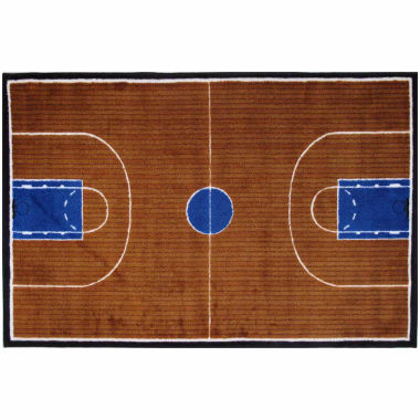 jcpenney.com | Basketball Court-Supreme Rectangle Accent Rug