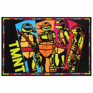 jcpenney.com | Tmnt Rectangle Accent Rug