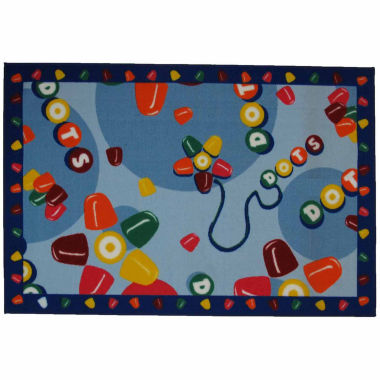 jcpenney.com | Tootsie Roll Dots Rectangle Accent Rug