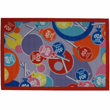 jcpenney.com | Tootsie Roll Pop Rectangle Accent Rug