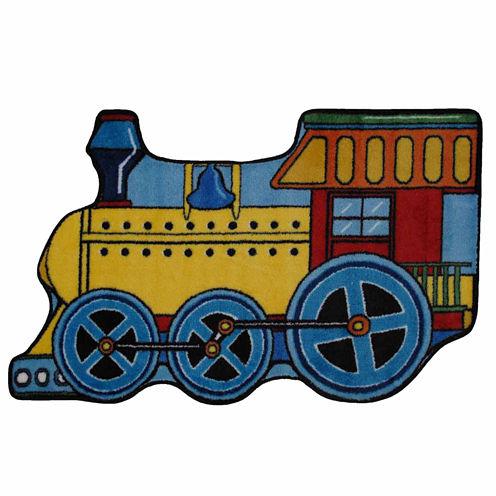 Train Rectangular Rugs