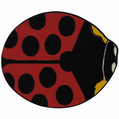 Red Lady Bug Rugs