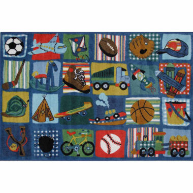 jcpenney.com | Funky Boys Quilt Rectangular Rugs