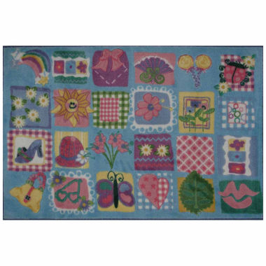 jcpenney.com | Funky Girls Quilt Rectangle Accent Rug