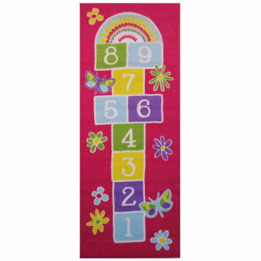 jcpenney.com | Garden Hopscotch Rectangular Rugs