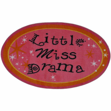 jcpenney.com | Little Miss Drama Rectangle Accent Rug