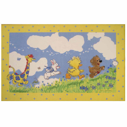 Looking For The Wishing Puff Rectangular Rugs