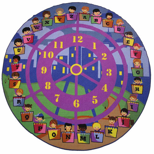 Wheel Of Fun Round Rugs