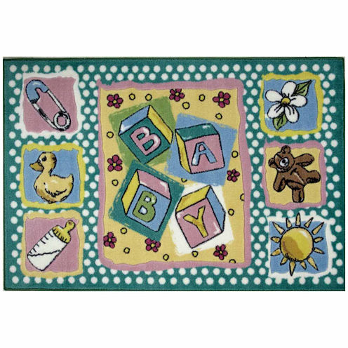 Building Blocks Rectangular Rugs