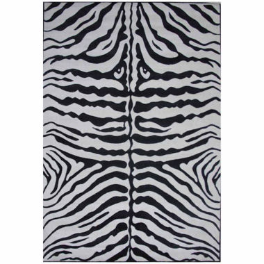 jcpenney.com | Zebra Skin Rectangle Accent Rug