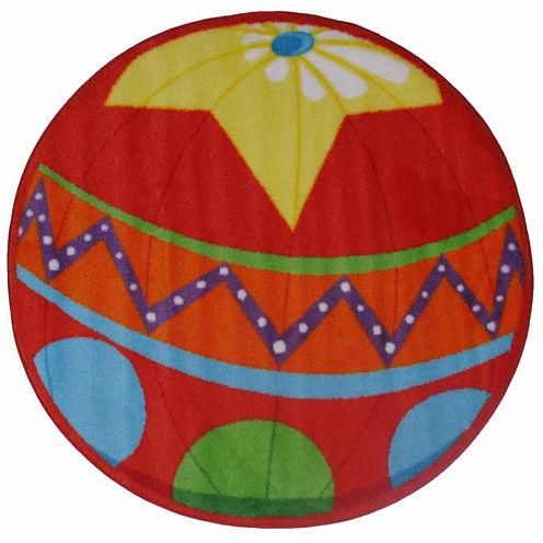 Circus Ball Round Rugs