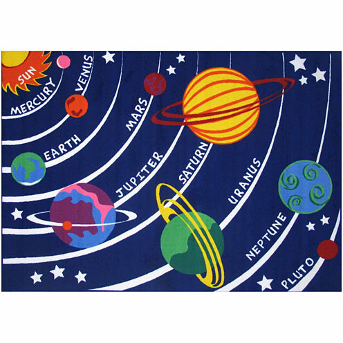 Solar System Rectangular Rugs