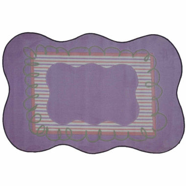 jcpenney.com | Girls Scalloped Rectangle Accent Rug
