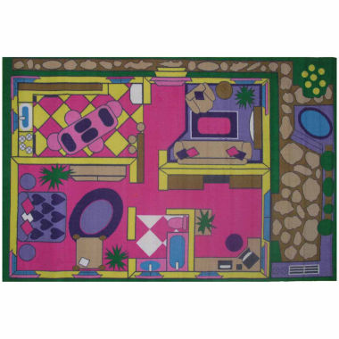 jcpenney.com | Dollhouse Rectangle Rugs
