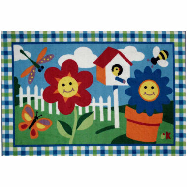 jcpenney.com | Happy Flowers Rectangular Rugs