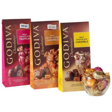 jcpenney.com | Godiva Wrapped Milk Chocolate Gift Set