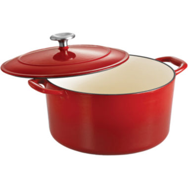 jcpenney.com | Tramontina® Gourmet 6½-qt. Enameled Cast Iron Covered Round Dutch Oven