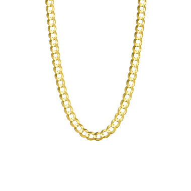 jcpenney.com | 14K Yellow Gold 5.7MM Curb Necklace 26""
