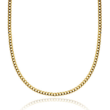 jcpenney.com | 14K Yellow Gold 3.15 MM Curb Necklace 22""