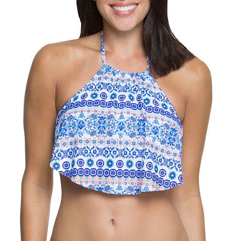 Aqua Couture Halter Swimsuit Top