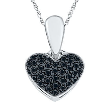 jcpenney.com | Womens White Diamond Sterling Silver Pendant Necklace