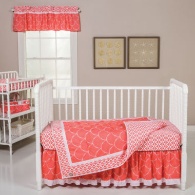 jcpenney.com | Trend Lab Shell 3-pc Crib Bedding Set